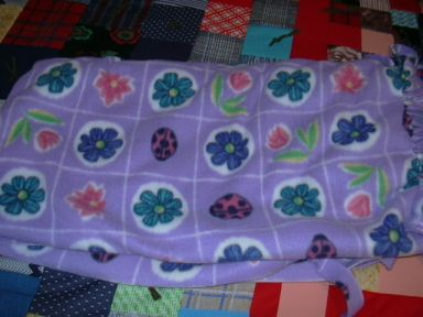 Project Linus blankie in honor of my mother for Christmas
