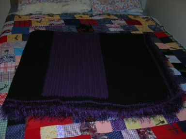 Blankie made for my brother's girlfriend Jeanette